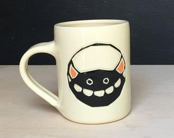 Friendly Black Monster, Coffee Mug 12 oz.
