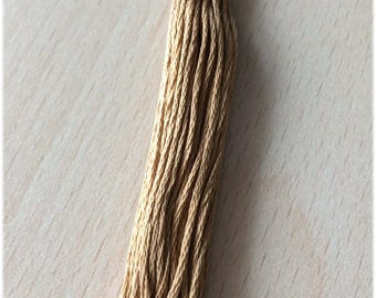 DMC stranded 3828 Brown oak six strands