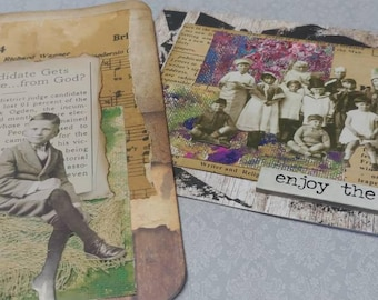 Altered Booklets with Tags