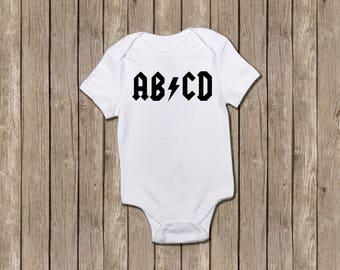 ABCD bodysuit