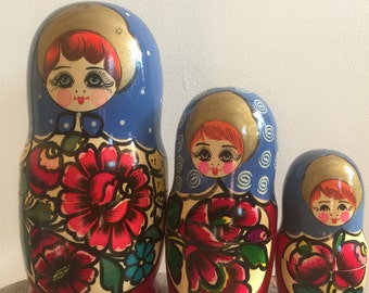 Matryoshka Doll- set of 3