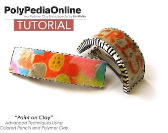 SALE! Polymer Clay Tutorial, Bracelet Tutorial, Necklace, Ring, Jewelry Tutorial, Hair Clip, Polymer Clay Bead, PDF Tutorial, DIY Tutorial