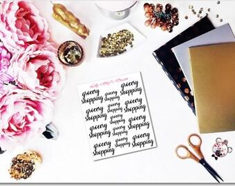Grocery Shopping Script
