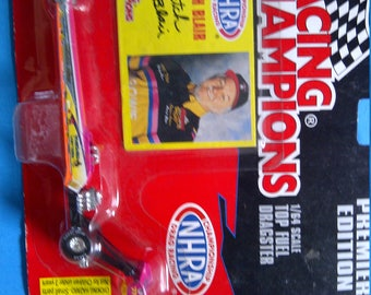 Top Fuel Dragster Butch Blair 1/64th new on card