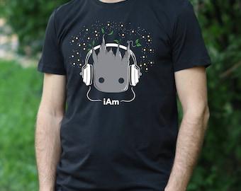BABY GROOT Tshirt ich bin Groot Shirt Hüter der Galaxy T-Shirt Baby Groot  Herren Shirt ich bin Groot Tshirt Guardians of The Galaxy t-Shirt f6ae5aa266