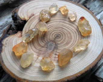 12 Raw Oregon Sunstones/Golden Labradorite/Schiller Crystals/Healing Crystals for Meditation and Jewelry Making/Pagan Supplies