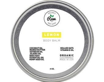 Lemon Body Balm