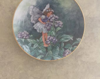 Collectable Heliotrope Fairy Plate Heinrich Villeroy Boch Germany Numbered