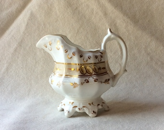 Antique Staffordshire Cream Jug