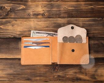mens leather wallet mens wallet slim wallet card holder wallet leather coin purse wallet travel wallet minimalist wallet thin leather wallet