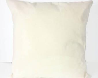 Blank Canvas pillow cover / HTV blanks / blank pillow cover / DIY pillow / canvas pillow cover / embroidery blanks /