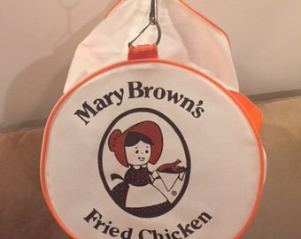 1980s Mary Browns Fried Chicken Gym Tote Bag