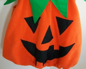 Children's Halloween pumpkin dressing up costume ages 3 to 8
