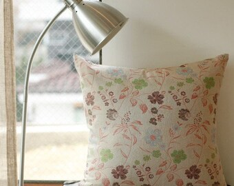 3 Yards, Sale, Natural Romantic Flower Wool Jacquard, U1019