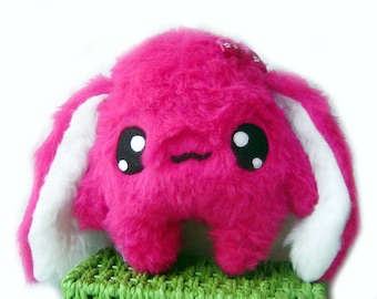 Kawaii Plush Bunny cute Rabbit  Hot  Pink