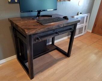 Vintage Industrial Reclaimed Desk/Writing Desk/Crafts Table.
