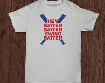 Baseball T Shirt, Hey Batter Batter, Softball T Shirt, Youth T Shirt, Toddler Shirt