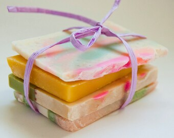 Soap Sample Stack - Variety Pack - Handmade Cold Process Artistan Soaps