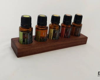 Essential Oil Tray | FREE DOMESTIC SHIPPING | Wooden Essential Oil Holder - Small Essential Oil Trays - Essential Oil Storage Tray