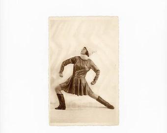 Vintage Postcard - Posed Lady