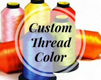 Add A Customized Thread Color To Your Hat Order