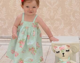 Baby Dress - Toddler Dress - Baby Sundress - Toddler Sundress - Toddler Girl Clothes - Girls Simple Dress - Custom Girls Dress - Girls Dress