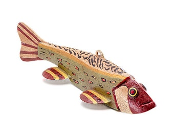 Hand Carved Fish Decoy