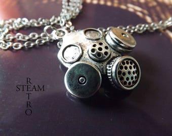 Necklace Cyberpunk - jewelry by Steamretro-Steampunk