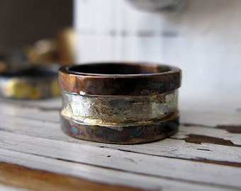 Rustic Mens Wedding Band Oxidized Mens Wedding Ring Unique Mens Wedding Band Mens Wedding Bands Viking Wedding Ring Mens Wedding Rings