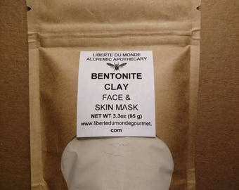 Bentonite Clay Powder Face & Skin Mask