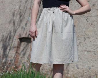 Annecy Beige Skirt