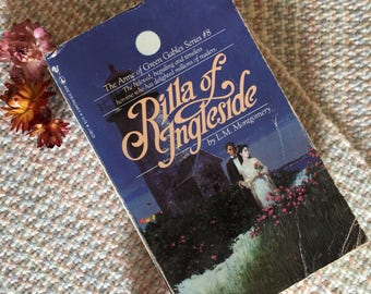 Rilla of Ingleside, Anne of Green Gables series written by LM Montgomery, book eight