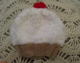 Crochet Halloween baby beanie
