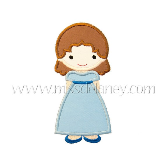 SAMPLE SALE, Peter Pan Wendy Darling Cutie- Peter Pan Inspired Embroidered Shirt - Lost Boys -Neverland  Shirt - Peter Pan Birthday Shirt