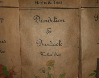 Dandelion & Burdock Herbal Tea