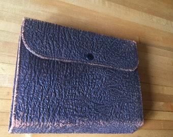 Antique Mens Leather Travel Case