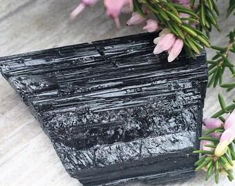 Rough Black Tourmaline