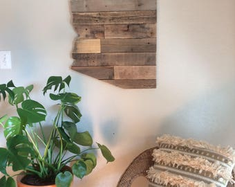Arizona State Sign | Reclaimed Wood | Pallet Sign | Home Decor | Wall Art | Rustic Decor | Barn wood |