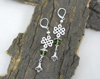 Earrings Celtic knots