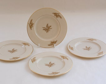 """Lenox Harvest 4 Bread and Butter plates 6-1/4"""" round, Set 1"""
