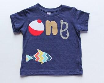 First Birthday Fishing Theme Birthday, Fishing Birthday Shirt, First Birthday Shirt