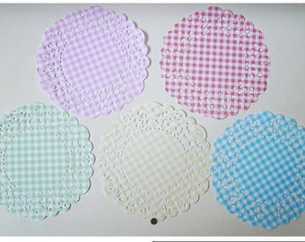 Doily paper with gingnam pattern doily / pack