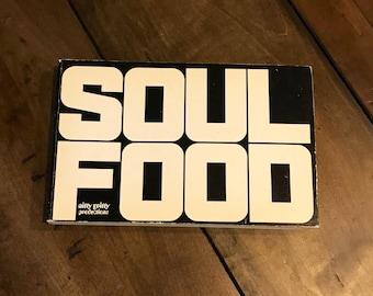 Soul food cookbook etsy soul food cook book by jim harwood and ed callahan paperback 1969 vintage cookbooks forumfinder Choice Image