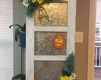 Floral Magnet Board