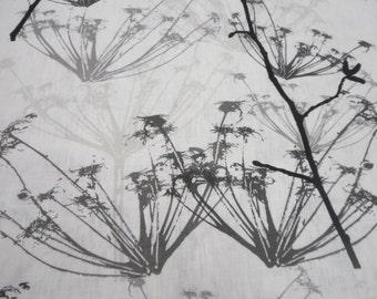 Cafe valance. White and Black Linen Valance. Kitchen Valance. Cafe curtains. Scandinavian fabric
