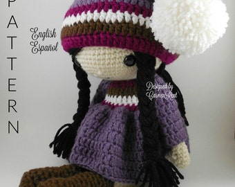 Irene - Amigurumi Doll Crochet Pattern PDF