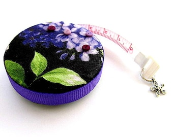 Tape Measure Lilac Flowers Retractable Measuring Tape