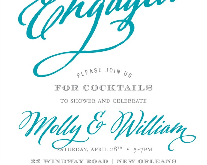 Script Engagement | Cocktail Party Invitation