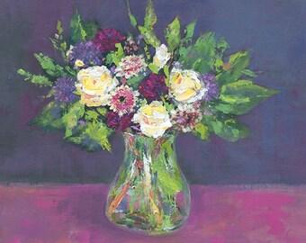 Greetings Card - Beautiful Blooms