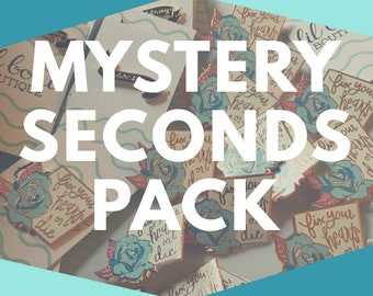 Mystery Seconds - Two-pack Enamel Pins